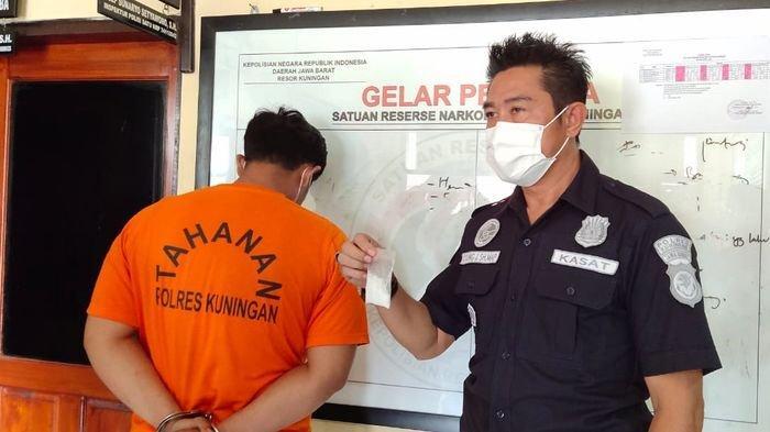 Pengedar Narkoba di Kuningan Dibekuk, Ngakunya Dapat Barang Haram dari Warga Binaan Lapas di Bandung