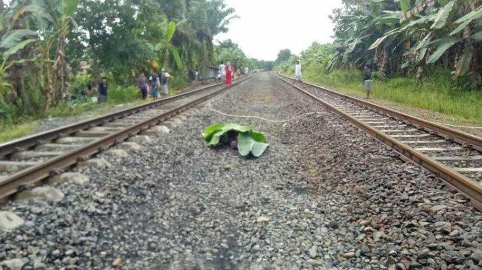 Viral Video Detik-detik Wanita Tertabrak Kereta Api di Bandung, Jerit Histeris Perekam Terdengar