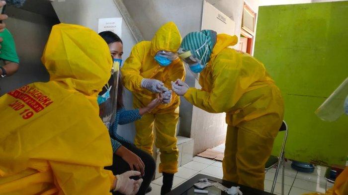 Rapid Test Massal Digelar di Sejumlah Pasar di Majalengka, 250 Warga Jadi Sasaran