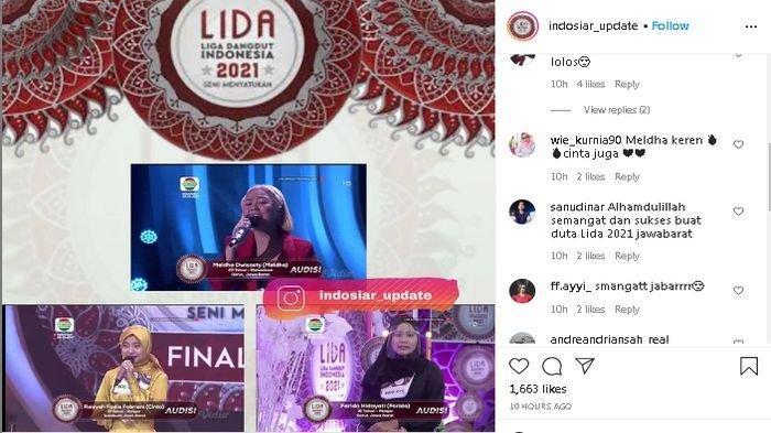 TIGA Wakil Jabar yang Lolos Audisi LIDA 2021, Ribuan Netizen Langsung Beri Semangat