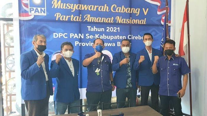 Desy Ratnasari Hadir di Muscab 40 DPC PAN se-Kabupaten Cirebon yang Digelar Secara Virtual