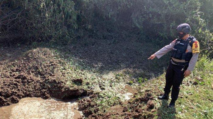 Bom Raksasa Seberat 100 Kilogram di Kuningan Diledakkan Tim Gegana Sat Brimob Polda Jabar