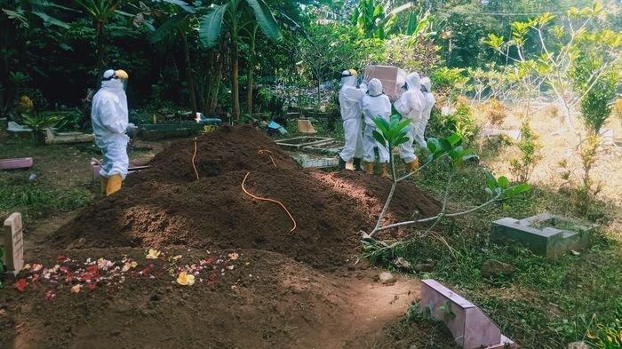 Pemakaman Jenazah Covid-19 di Pangandaran Meningkat, Sehari Bisa Sampai 10 Kali di Masa PPKM Darurat