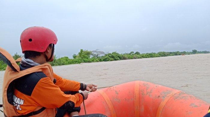 Basarnas Prediksi EEK, Bocah yang Tenggelam di Sungai Cimanuk Indramayu Sudah Tak Bernyawa