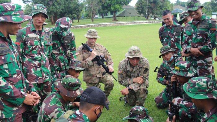 TentaraAmerikaDatangi Markas Yonif Raider 321/GT Kostrad Majalengka, Ini yang Mereka Lakukan