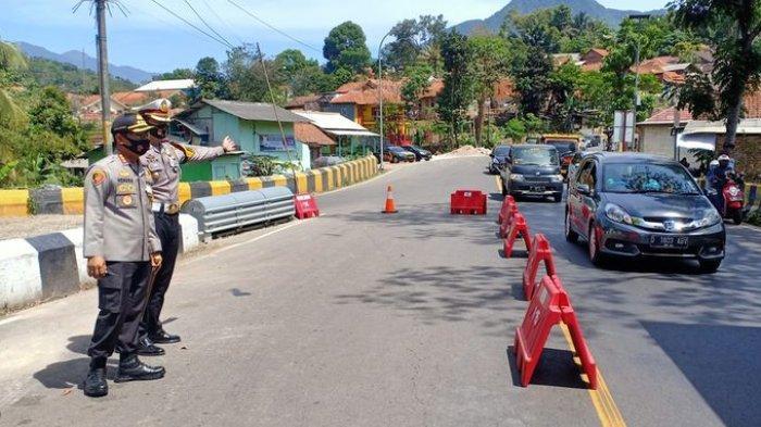 H-1 Idul Adha 1441 H, Arus Lalin di Nagreg Meningkat, Kapolresta Bandung: Ini Bukan Waktunya Mudik