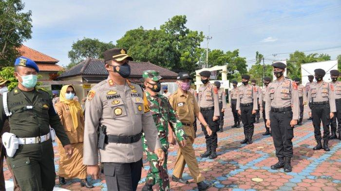 Gelar Pasukan Jelang Nataru, Kapolres Indramayu Waspadai Ancaman Terorisme & Klaster Baru Covid-19