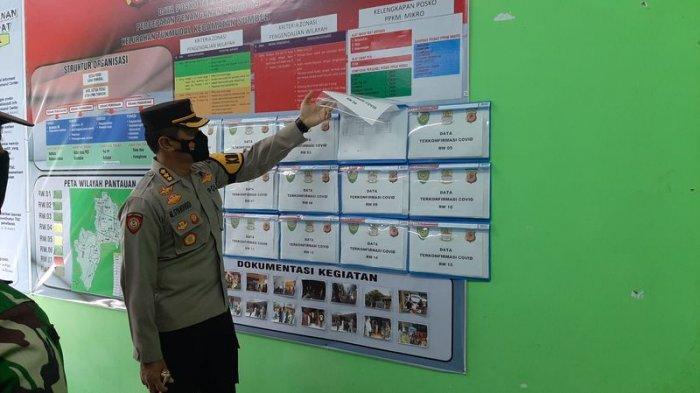 Tinjau Posko PPKM Mikro, Kapolresta Cirebon Minta Satgas Covid-19 Desa dan Kelurahan Perkuat 3T