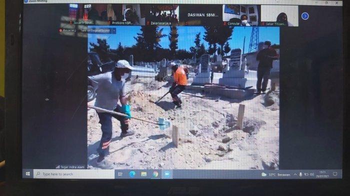 Miris TKW Asal Indramayu Ini Akhirnya Dimakamkan di Turki, Keluarga Hanya Bisa Saksikan Lewat Zoom