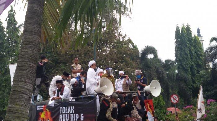 Ulama Santri dan Warga Ciamis Siap Kembali Kepung Jakarta Bila RUU HIP Tetap Dibahas DPR RI