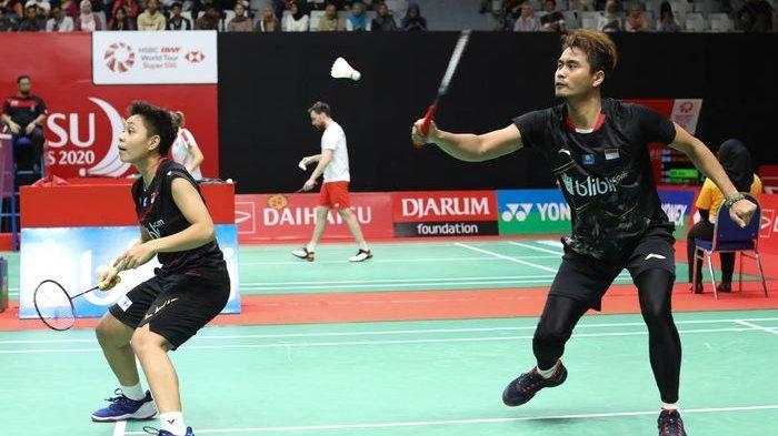 Hanya 3 Menit, Tontowi Ahmad/Apriyani Rahayu Berhasil Melaju Ke Babak Kedua Indonesia Masters 2020