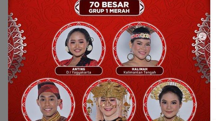 Ayo Dukung, TOP 70 LIDA 2021 Dimulai, Duta dari Yogya Sumut Kalteng NTB dan Sulsel Tampil Malam Ini