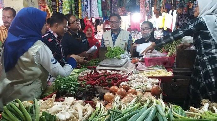Antisipasi Kenaikan Harga Barang Saat Natal & Tahun Baru 2020, TPID Sidak Dua Pasar di Kota Cirebon