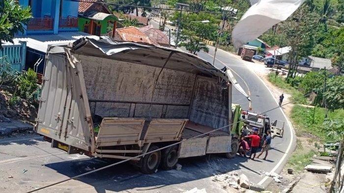Kecelakaan di Nagreg, Truk Terguling dan Melintang, Jalan pun Ditutup, Begini Proses Evakuasinya