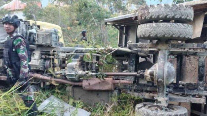Truk TNI Alami Kecelakaan di Papua, Diduga Alami Rem Blong, Dua Prajurit Meninggal Dunia