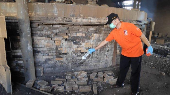 Tungku Peleburan Biji Besi di PT Indo Tama Ferro Alloys Meledak, Seorang Pekerja Tewas Seketika