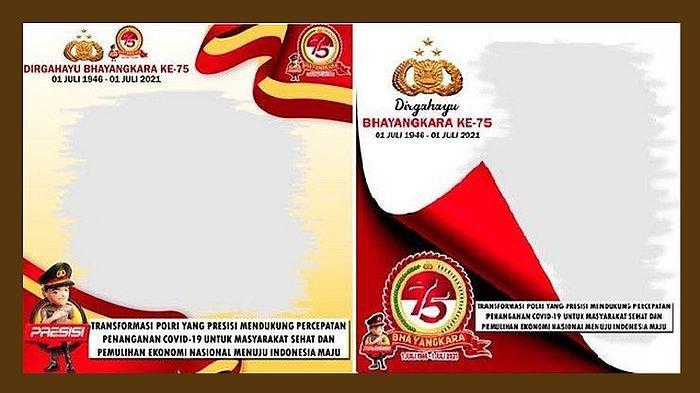 Twibbon HUT Bhayangkara 2021