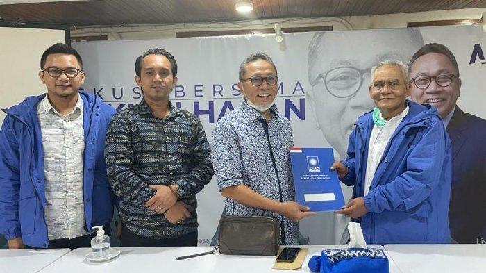 Uba Subari Mantan Ketua BazNas Resmi Jadi Ketua DPD PAN Kuningan Keputusan Dibacakan Zulkifli Hasan