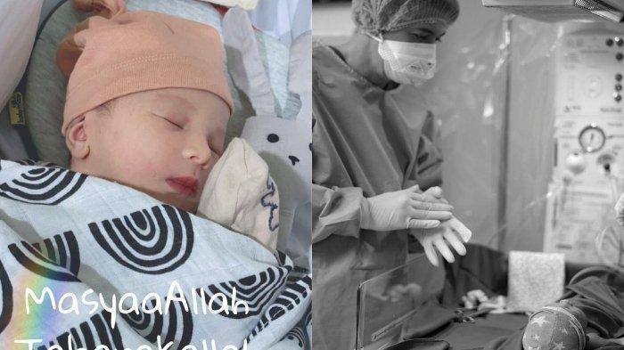 Foto-foto Baby Ukkasya, Anak Zaskia Sungkar & Irwansyah, Parasnya Disebut Sangat Mirip Mark Sungkar