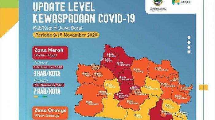 Kabupaten Indramayu Kini Masuk Zona Oranye Covid-19, Total Kasus Positif Corona Tembus 517