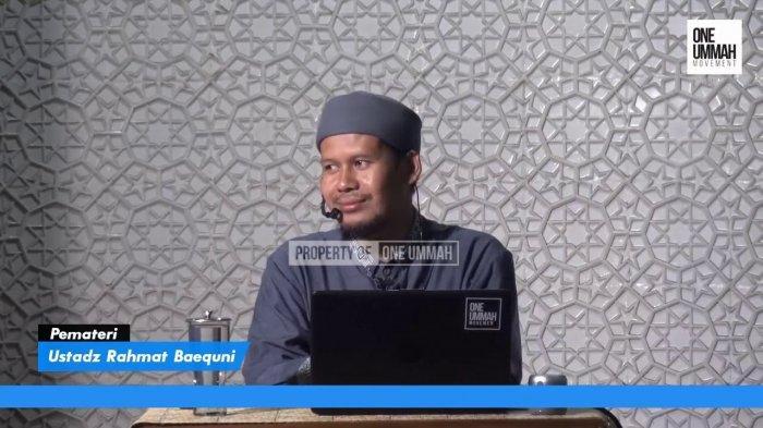 Ustaz Rahmat Baequni Viral Seusai Potongan Video Bahas Densus 88 Tersebar, Siapa Dia Sebenarnya?