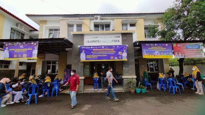 Tenaga Kesehatan di Majalengka Sangat Antusias Disuntik Vaksin Covid-19 di Puskesmas Cigasong