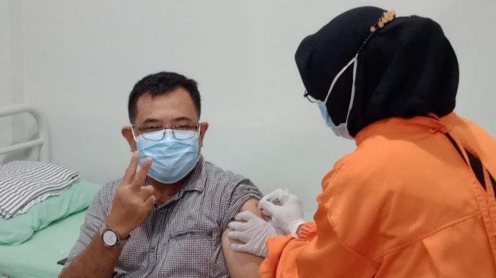 Vaksinasi Covid-19 Tahap Dua di Kota Cirebon Dimulai Hari Ini, Forkopimda Diskrining Kembali
