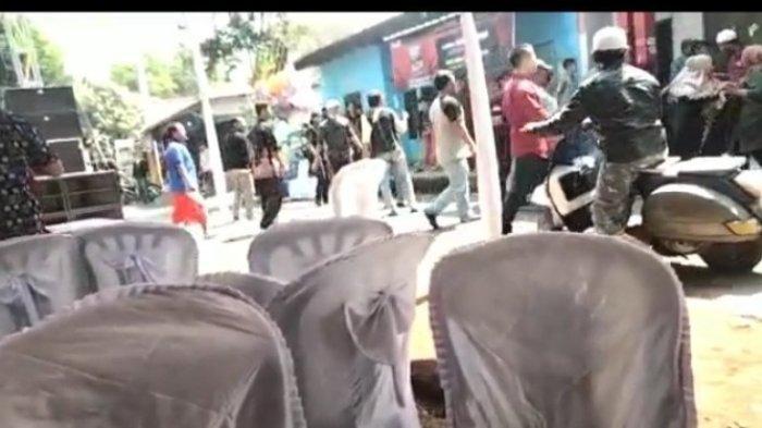 HEBOH Video Warga Ribut Saat di Lokasi Hajatan di Kuningan, Diduga Hanya Soal Joget