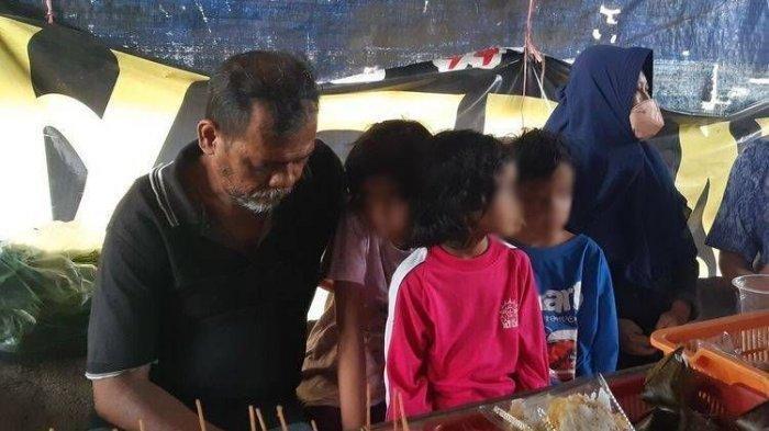 Suami Istri Terpaksa Ajak 7 Anaknya Tinggal di Angkringan karena di Usir, Sudah 30 Kali Pindah Kos