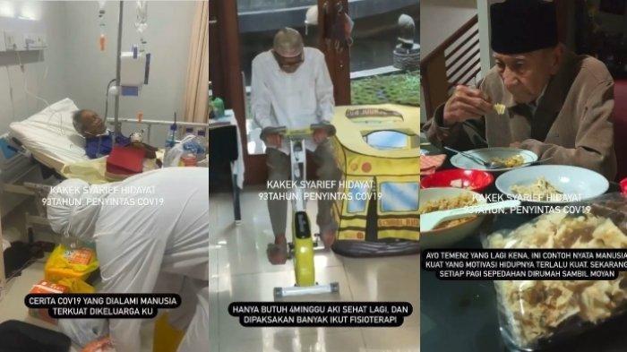 Rahasia Kakek 93 Tahun di Tasikmalaya Berhasil Sembuh dari Covid-19, Sempat Kritis di Rumah Sakit