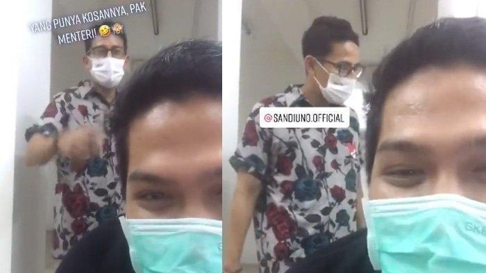 Sandiaga Uno Sidak Kos-kosan Milik Istrinya Viral, Para Penghuni Kaget Digerebek Pak Menteri