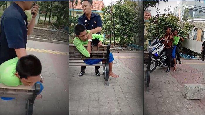 VIRAL Video Satpam Rumah Sakit di Jakarta Tangkap, lalu Hajar Secara Brutal Pasien Pria yang Kabur