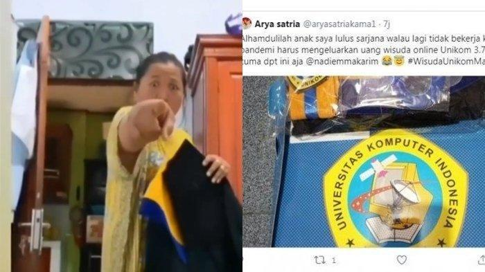 Unikom Patok Biaya Wisuda Rp 3,7 Juta, Ibu Mahasiswa Ini Murka, Matanya Melotot, Gak Sudi Bayar