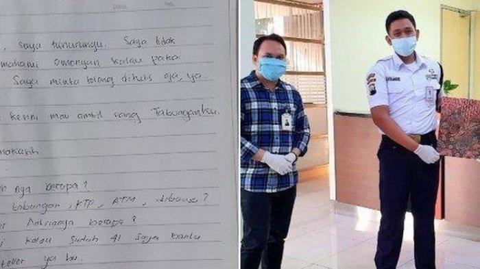 VIRAL Cerita Teman Tuli Dibantu Satpam Baik Hati di Bank Swasta di Semarang, Satpam Dapatkan Ini