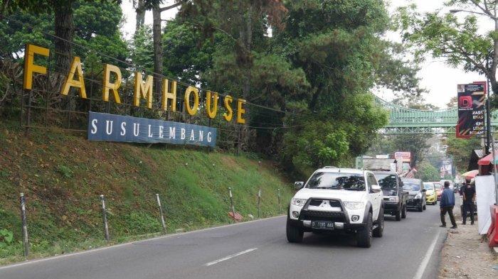Kondisi arus lalu lintas di Kawasan Lembang, Kabupaten Bandung Barat, Minggu (12/9/2021)).