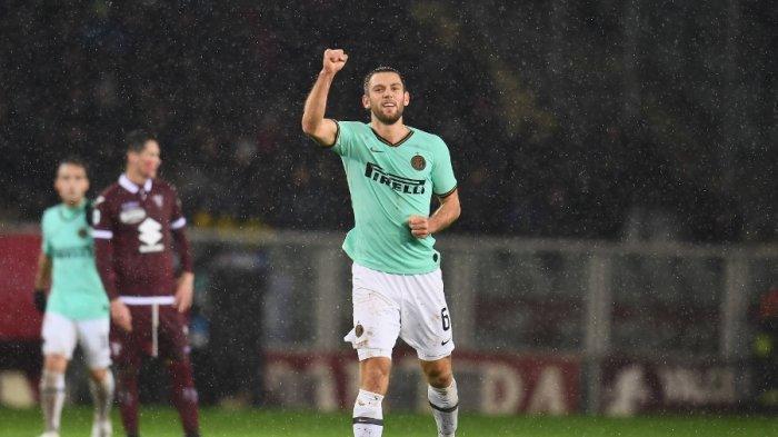 Tak Hanya Jago Jegal Lawan, Mantan Pemain Lazio Ini Sukses Cetak Gol dan Bawa Inter Milan Menang