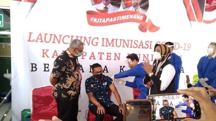 Selain Bupati, Kapolres & Ketua DPRD Kuningan Gagal Ikut Penyuntikan Vaksin Covid, Ini Penyebabnya