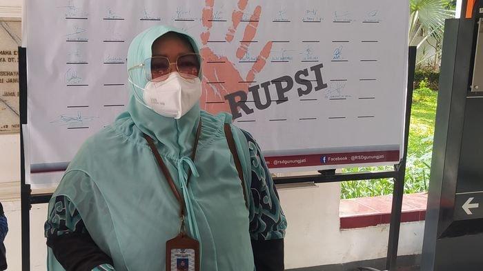 Keterisian Tempat Tidur di Ruang Isolasi RSD Gunung Jati Kota Cirebon Hampir 100 Persen