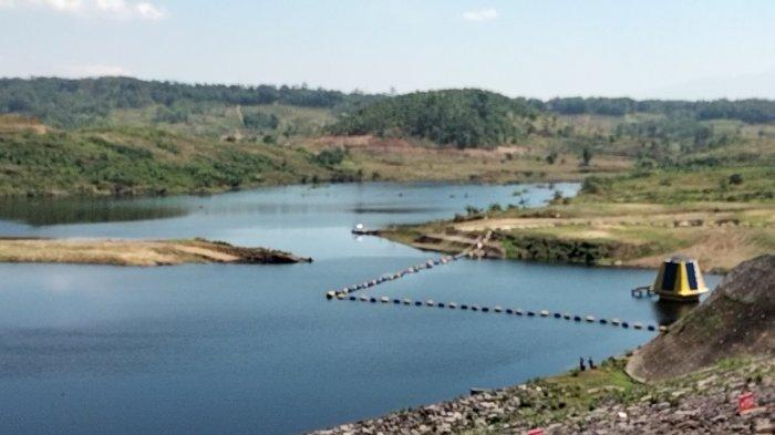 Waduk Kuningan Mulai Digenangi Air, Bangunan Sudah Rata Tanah, Begini Kondisi di Lokasi