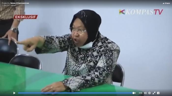 KEMARAHAN Risma Tahu Rumah Sakit Rujukan Covid-19 Dikuasai Warga Luar Surabaya, Terucap Kalimat Ini