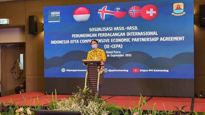 Wamendag Sosialisasikan Hasil Perundingan Perdagangan Internasional IE - CEPA di Cirebon