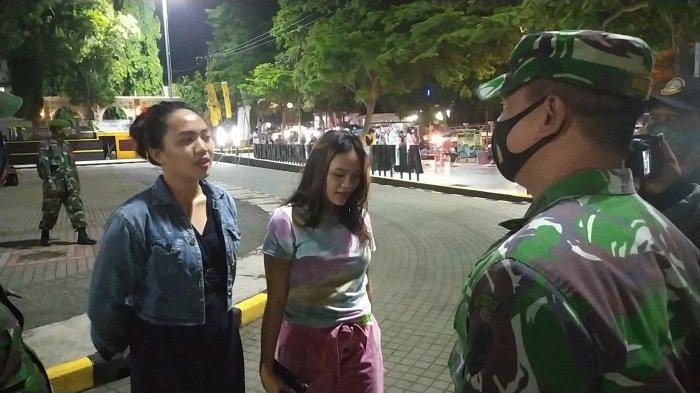 Pengunjung Alun-alun Palabuhanratu Berlarian Dibubarkan Petugas, Sejumlah Wanita Cantik Kena Razia