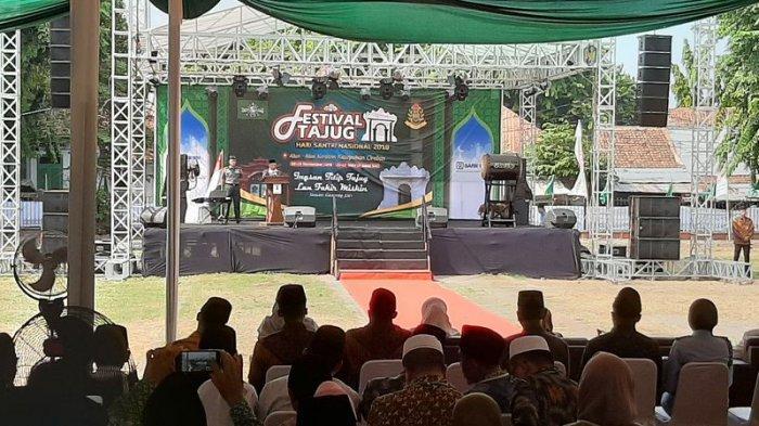 Wapres KH Ma'ruf Amin Sebut Festival Tajug 2019 Sangat Penting Karena Hal Ini