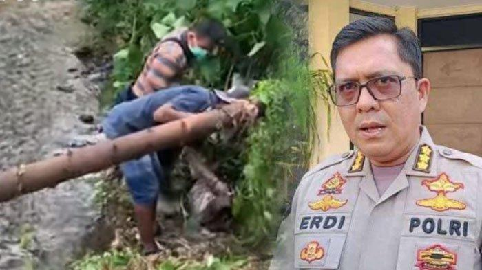 Kades Terjunkan Tim Uka-uka Ikuti Petunjuk Cari HP Amalia di Sungai,Polisi Temukan Bukti Baru