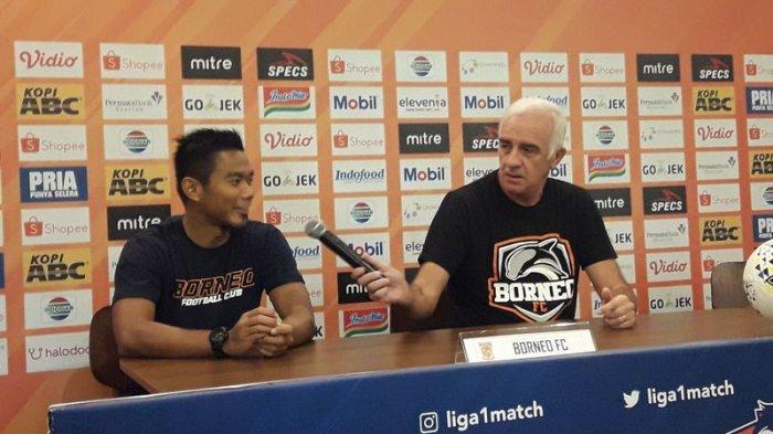 Jelang Persija vs Borneo FC, Pelatih Borneo Mario Gomez Ingin Ambil Peluang Inkonsisten Persija