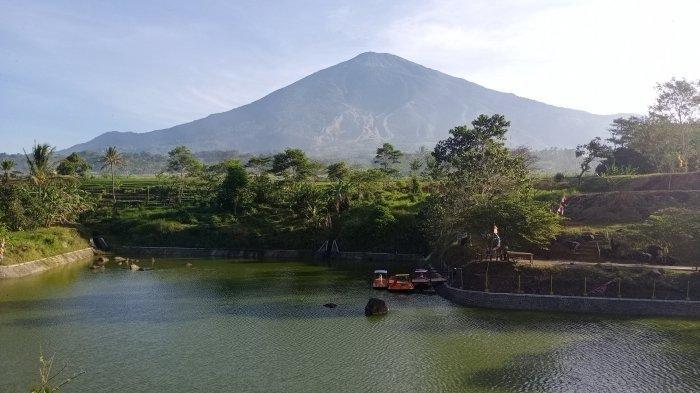 Cukup Bayar Rp 5 Ribu, Anda Bisa Nikmati Kesegaran Alam Setu Gunung Hayu Kuningan