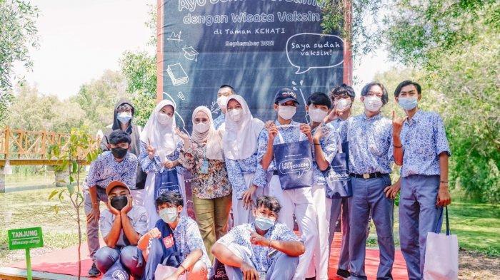 Sasar Pelajar, Polytama Gelar Wisata Vaksin di Taman Kehati Indramayu, Bisa Vaksin Sambil Berwisata