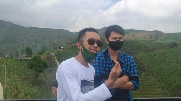 Libur Panjang, Wisatawan Asal Jakarta Ini Pilih Berlibur ke Lawang Saketeng Majalengka