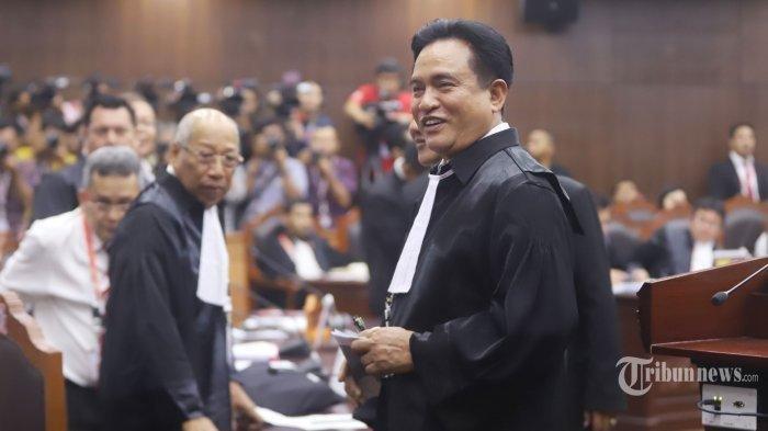 Yusril Optimis MK Bakal Tolak Gugatan Kubu Prabowo-Sandiaga, Begini Alasannya