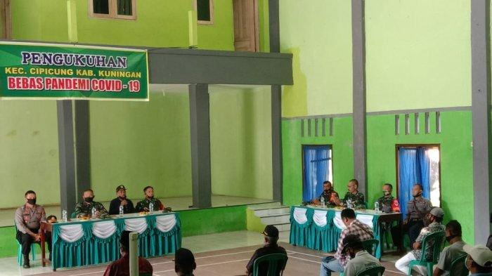 Danrem 063/SGJ Cirebon Kukuhkan Kecamatan Cipicung Sebagai Zona Bebas Covid-19